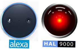 Alexa vs HAL