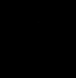 Outline of cheerleader