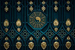 Photo of Asian yin yang symbol